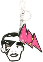 DSQUARED2 'Punk' face dual keyring - women - Cotton/Leather/Polyester/Zamak - One Size