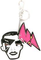 DSQUARED2 'Punk' face dual keyring
