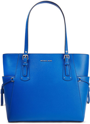 MICHAEL Michael Kors Voyager Pebbled-leather Tote