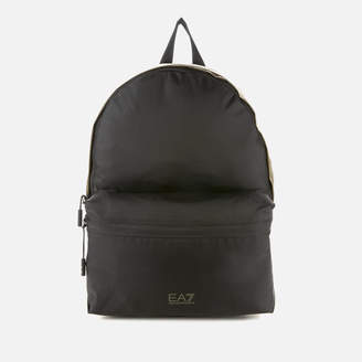 Emporio Armani Men's Backpack - Black/Khaki
