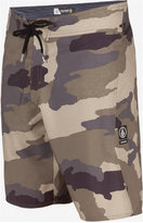 "Volcom Men's Lido Solid Mod Camouflage 9.5"" Board Shorts"