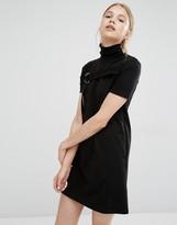 Cheap Monday Funnel Neck D -Ring Dress