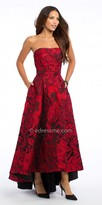 Camille La Vie Rose Brocade High Low Homecoming Dress