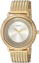 GUESS Women's Quartz Stainless Steel Dress Watch, Color:Gold-Toned (Model: U0836L3)