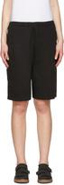 Acne Studios Black Larna Clg Shorts