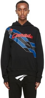DSQUARED2 Black Canada Hoodie
