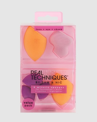 Real Techniques 6 Pack Miracle Sponges