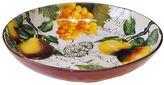 Certified International Botanical Fruit 13-in. Pasta Serving Bowl