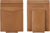 Johnston & Murphy Italian Leather Front-Pocket Wallet