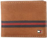 Tommy Hilfiger Men's Yale Passcase Billfold Wallet with Removable Card Case