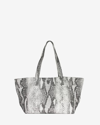 Express Joanna Maxham Leather Rive Gauche Tote