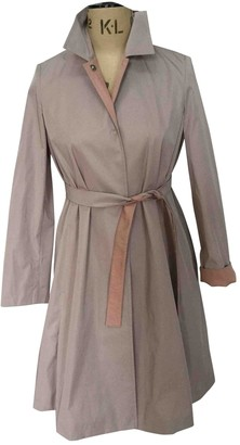 Max Mara Beige Trench Coat for Women