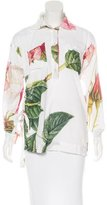 Vivienne Westwood Pleated Floral Tunic