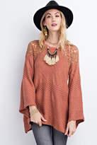 Easel Drapey Asymmetrical Sweater