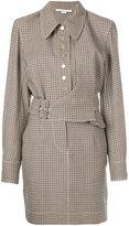 Stella McCartney belted asymmetric dress