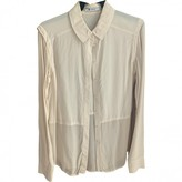 Alexander Wang Beige Silk Top for Women