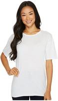 Lacoste Short Sleeve Loose Fit Tee Shirt Women's T Shirt