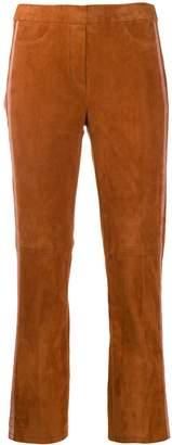 Luisa Cerano contrast stripe trousers