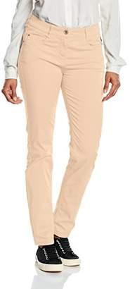 Atelier GARDEUR Women's Zuri Slim Trousers, Orange