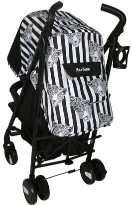 My Babiie Your Babiie Monochrome Leopard Stroller