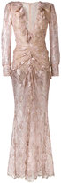 Alessandra Rich - lace dress - women - Silk/Polyamide/Spandex/Elastane/Metallic Fibre - 40