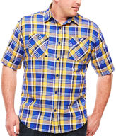 Ecko Unlimited Unltd. Short-Sleeve Pattern Woven Shirt - Big & Tall