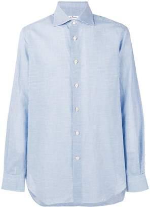 Kiton micro-striped shirt