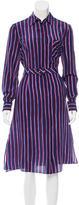 Altuzarra Striped Silk Shirtdress w/ Tags