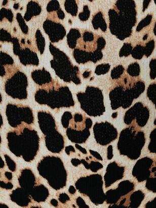 Anjuna Marina leopard-print swimsuit