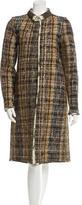 Oscar de la Renta Tweed Overcoat