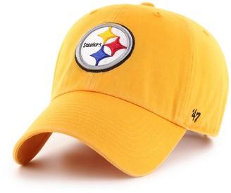 '47 Adult Pittsburgh Steelers Clean Up Adjustable Cap