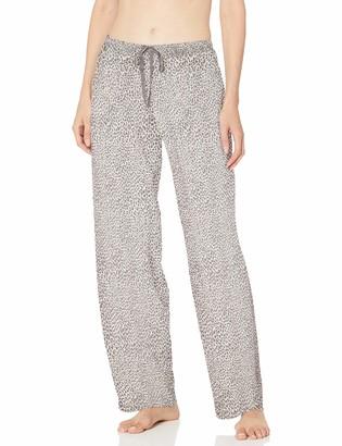 Hue Plus Size Women's Printed Knit Long Pajama Sleep Pant