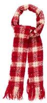 Burberry Merino Wool Check Scarf