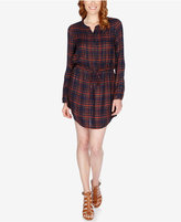 Lucky Brand Plaid Shirtdress