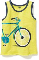 Old Navy Bicycle-Graphic Tank for Toddler