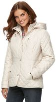 Chaps Women's Hooded Quilted Jacket
