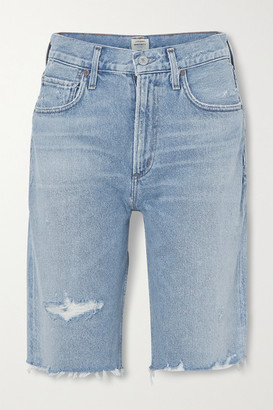 Citizens of Humanity Libby Distressed Denim Shorts