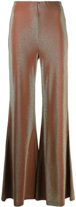 M Missoni High-Rise Flared Trousers