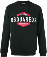 DSQUARED2 logo-printed sweatshirt