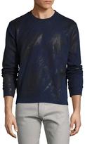 Diesel Black Gold Sdikilo-LF Printed Crewneck Sweatshirt