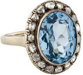 Ring Spinel & Diamond