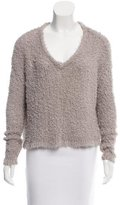 J Brand Long Sleeve Open Knit Sweater