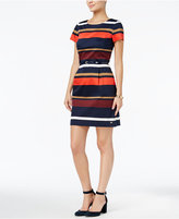Tommy Hilfiger Peggy Striped Dress, Only at Macy's