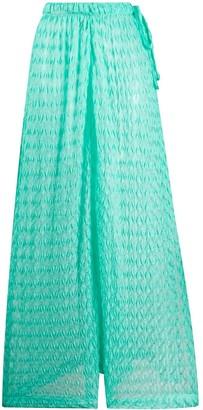 Missoni Mare Crochet Wide-Leg Trousers