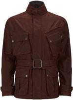 Knutsford 4 Pocket Wax Cotton Field Jacket Rust