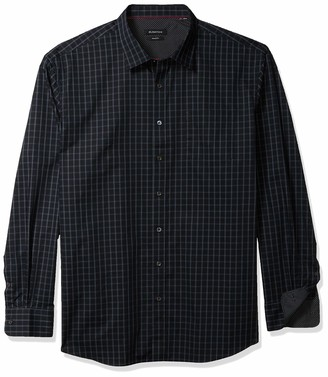 Bugatchi Men's Long Sleeve Classic Fit Shirt
