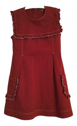 ALEXACHUNG Alexa Chung Red Denim - Jeans Dresses