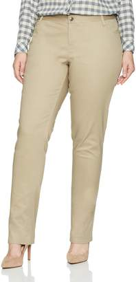 Lee Women's Original Straight Leg Pant (Plus and Standard Sizes)