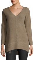 Qi Cashmere Shaker Stitch Sweater