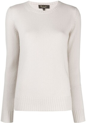 Loro Piana round neck jumper